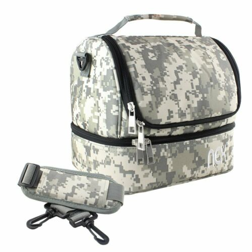 Insulated Lunch Bag for Women/Men Reusable Lunch Box fo Work School Picnic Beach