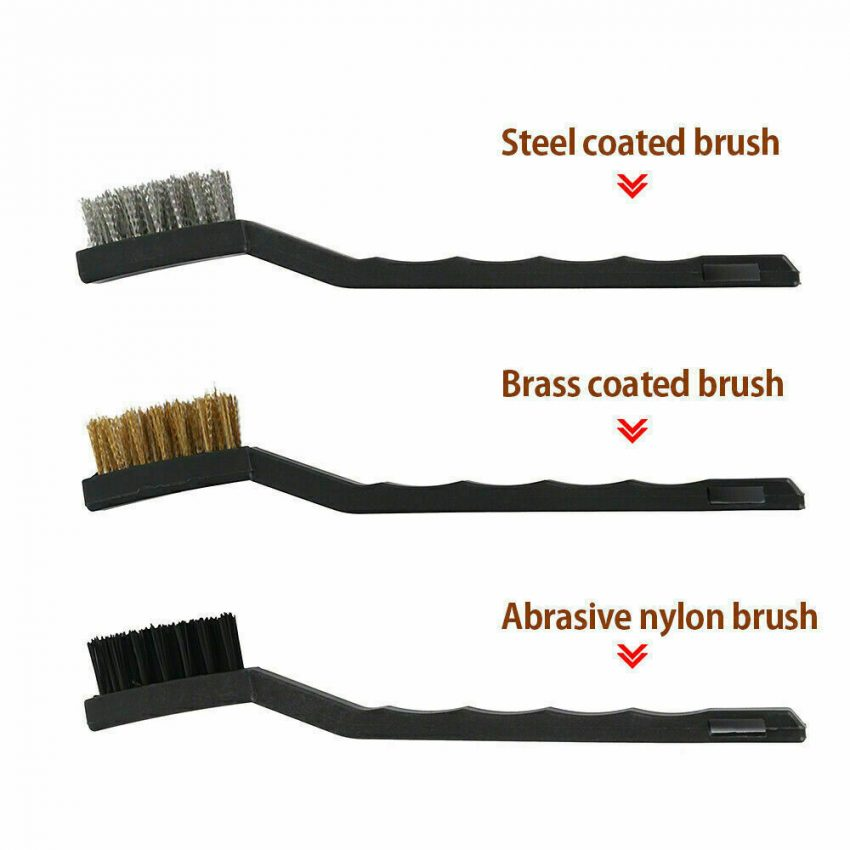 Car Detailing Brush Wash Auto Detailing Cleaning Kit Engine for Wheel Clean Set 8
