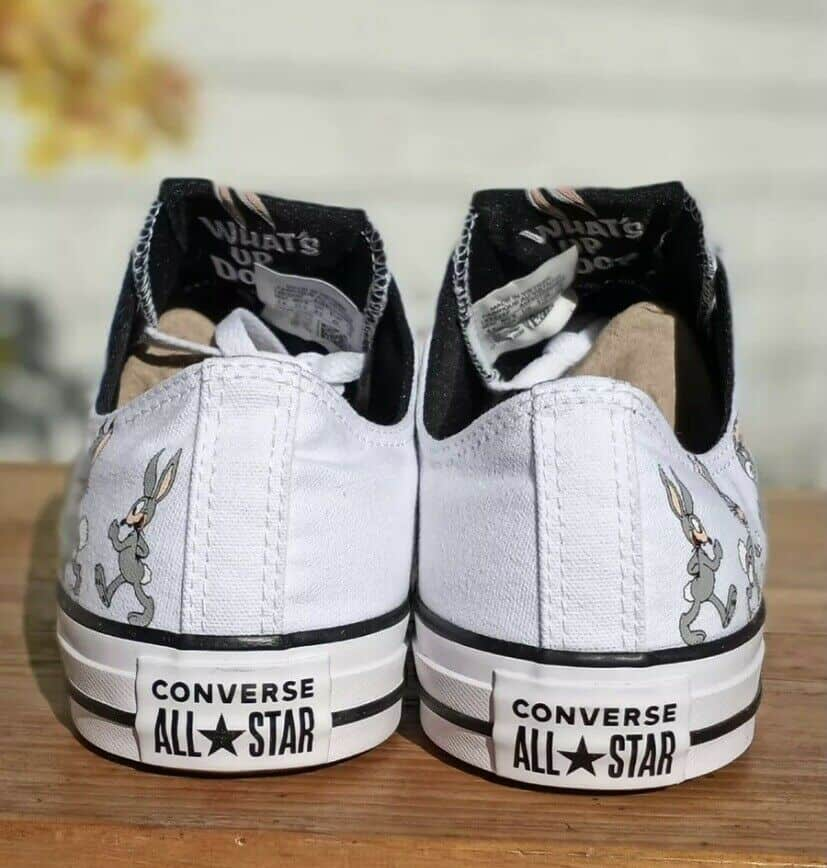 Converse X Bugs Bunny Men's Shoes All Star Ox Low 80 years white/grey 169226F 8