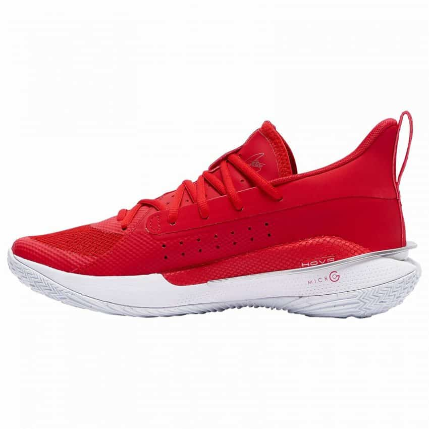 Under Armour Men's Team Curry 7 Basketball Shoes 8