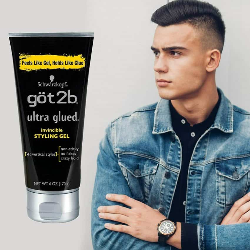 Ultra Glued Invincible Styling Hair Gel, 6 Ounce 5