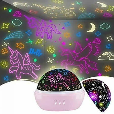 Unicorn Toys for 3-8 Year Old Girls,Star Projection Cool Kids Toys Pink Gift