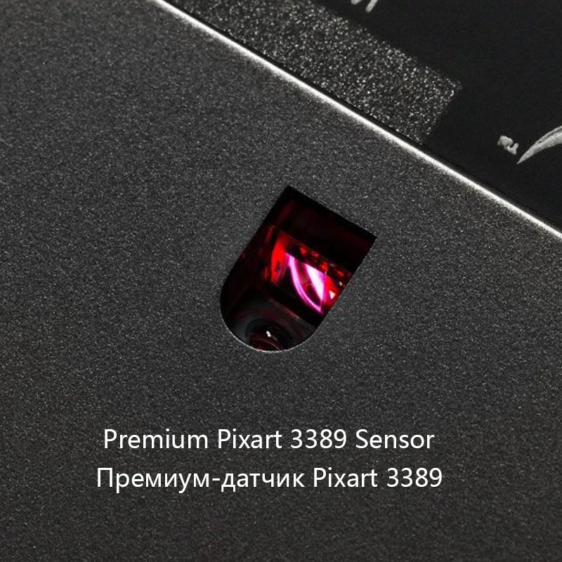 Kingston 3389 sensor wired mouse HyperX Pulsefire FPS Pro RGB Gaming Mouse with native DPI up to 16000 Pixart E-sports mouse 5