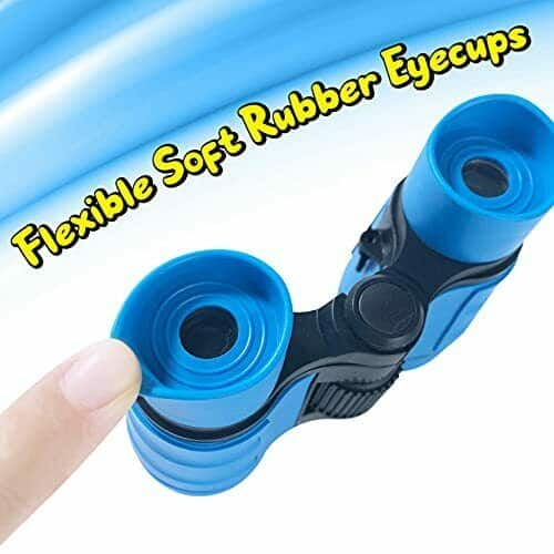 Binoculars for Kids Toys Gifts for Age 3, 4, 5, 6, 7, 8, 9, 10+ Years Old blue 3