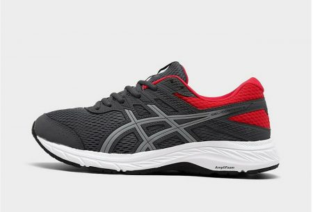 Men's Asics GEL-Contend 6 Running Shoes New Grey/ Red