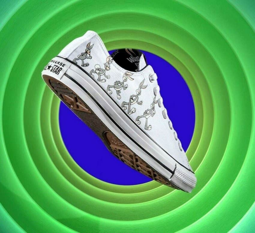 Converse X Bugs Bunny Men's Shoes All Star Ox Low 80 years white/grey 169226F