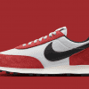 """Nike Daybreak Shoes Pure Platinum Black Gym Red """"Chicago"""" DB4635-001 Men's NEW 9"""