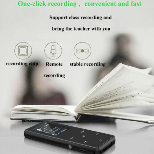 Portable Bluetooth MP3 Music Player with FM Hi-Fi Lossless Support up to 128GB 7