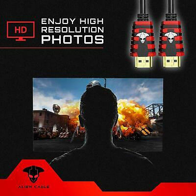 4K Ultra UHD HDMI 2.0 Cable 2160P 3D LED HDTV HDR 18Gps 60Hz HDCP 2.2 PS4 XBox 4