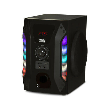 Acoustic Audio Bluetooth Tower 5.1 Home Speaker System with 8 1