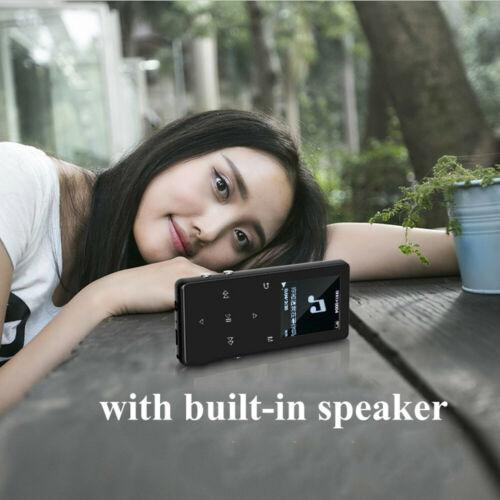 Portable Bluetooth MP3 Music Player with FM Hi-Fi Lossless Support up to 128GB 9