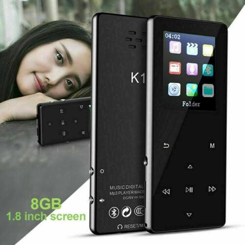 Portable Bluetooth MP3 Music Player with FM Hi-Fi Lossless Support up to 128GB 1