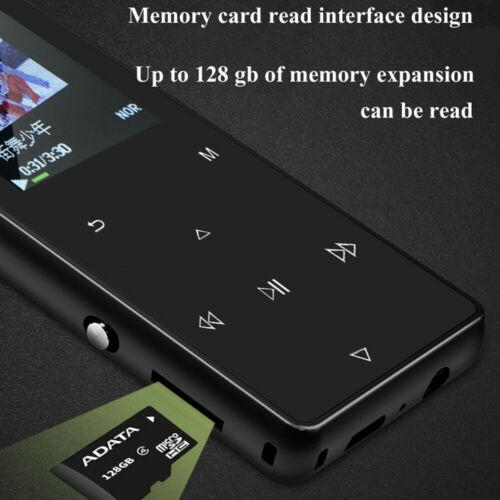 Portable Bluetooth MP3 Music Player with FM Hi-Fi Lossless Support up to 128GB 8