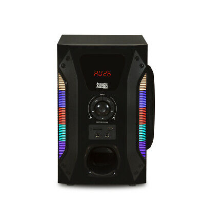 Acoustic Audio Bluetooth Tower 5.1 Home Speaker System with 8 2