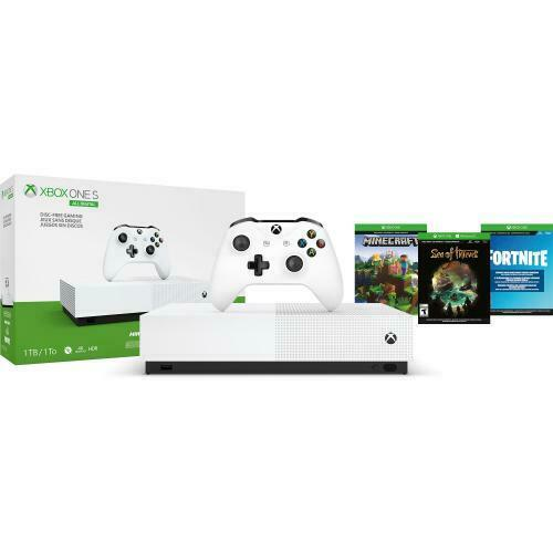 Xbox One S 1TB All-Digital Edition Console with 3 Games 1