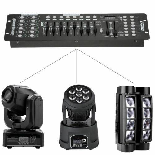 Stage Lighting Console Controller 192CH DMX512 DJ Disco Party Light 10