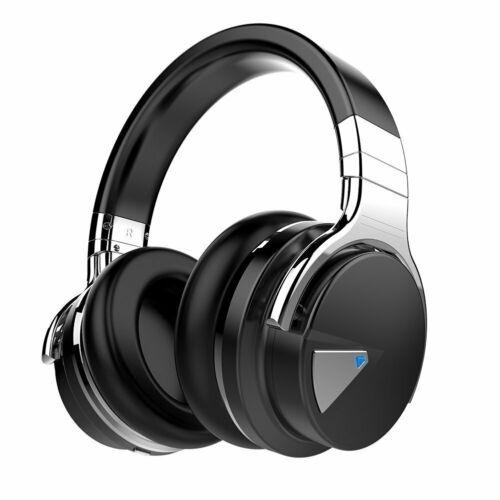 Cowin E7 [2018 Upgraded] Noise Cancelling Headset Wireless Bluetooth