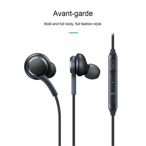 2 Pairs For Samsung Galaxy S8 S9 Plus Note 8 EarBuds Headphones Headset 3