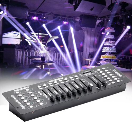 Stage Lighting Console Controller 192CH DMX512 DJ Disco Party Light 2