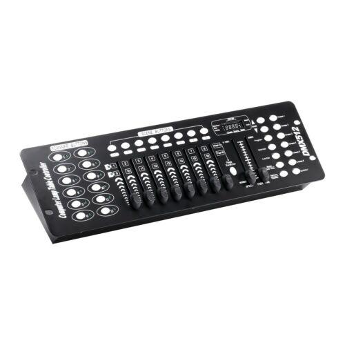 Stage Lighting Console Controller 192CH DMX512 DJ Disco Party Light 11