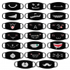 20 Pieces Cute Cartoon Mouth Mask Funny Teeth Pattern Mask Anti-dust Muffle Mask for Teens Men Women 2