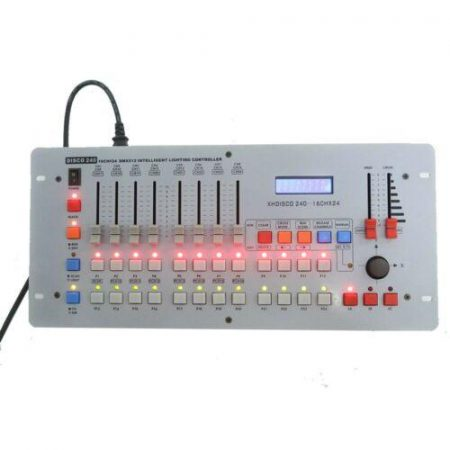 DMX-512 Controller 240 Channel for Moving Head Stage Light DJ Operator Equipment
