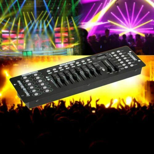 Stage Lighting Console Controller 192CH DMX512 DJ Disco Party Light