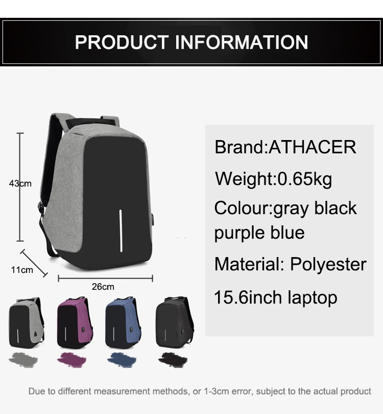 Waterproof Backpack for Students and Professional 17