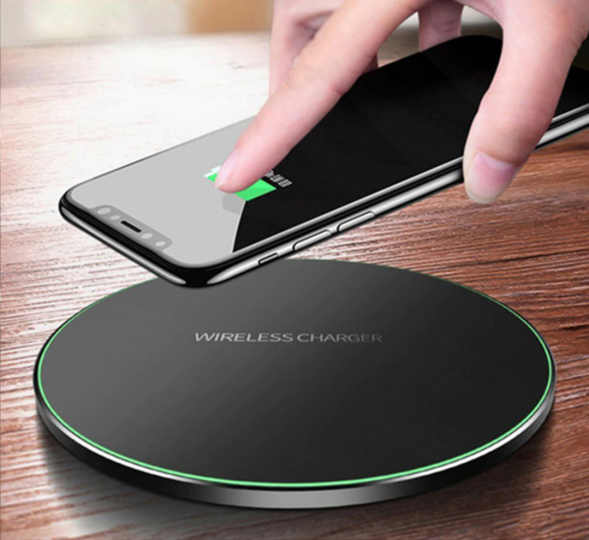 10W Wireless Charger For iPhone 11 8 X XR XS Max QC3.0 Fast Wireless Charging for Samsung S10  Note 8, 9 USB