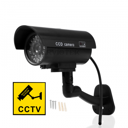 Fake Dummy Camera Outdoor Waterproof Home Security