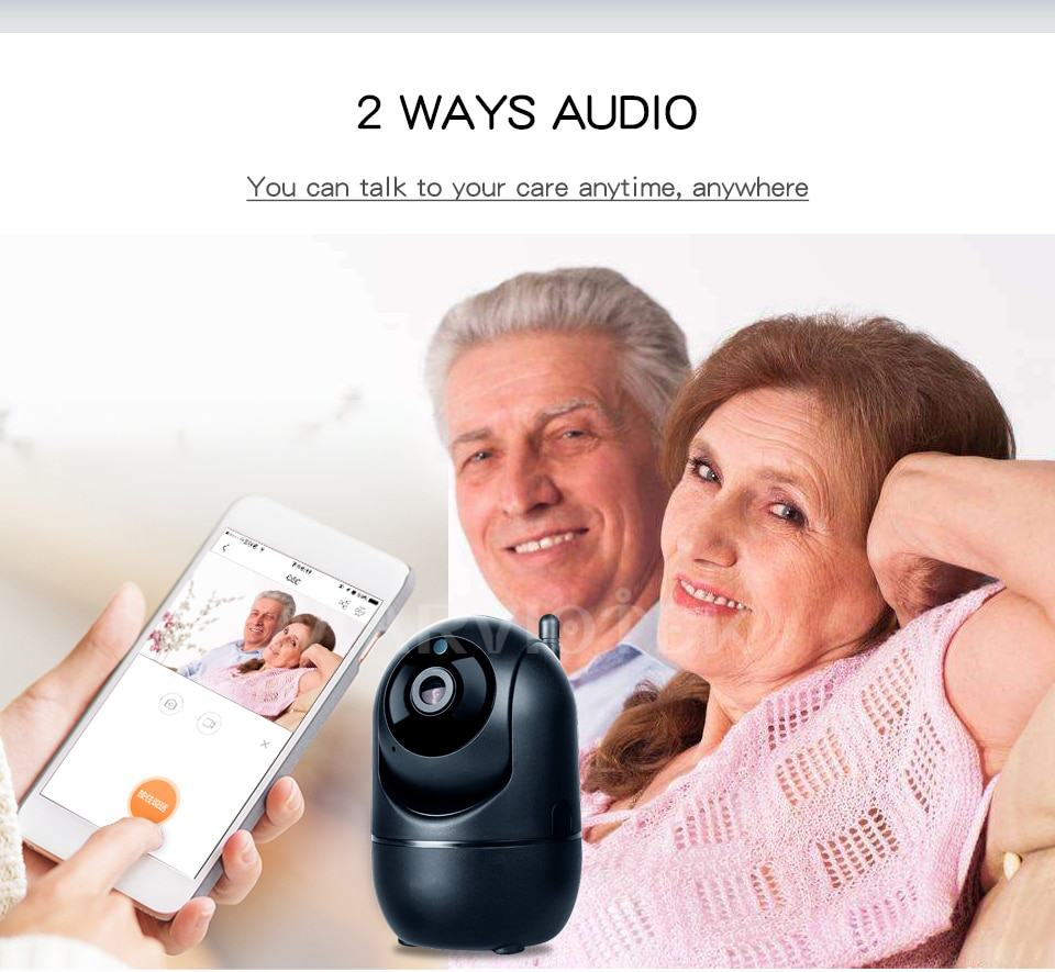 Home Security IP Camera wifi Auto Tracking IP Camera Wifi Motion Detection Two Way 11