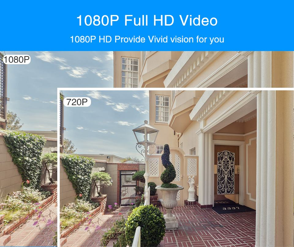 WiFi IP Camera Outdoor Night Vision Mini Speed Dome CCTV Camera 1080P Home Security 9