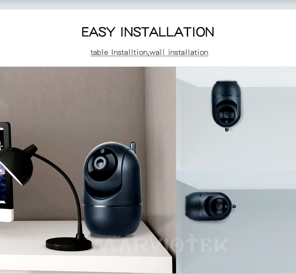 Home Security IP Camera wifi Auto Tracking IP Camera Wifi Motion Detection Two Way 12