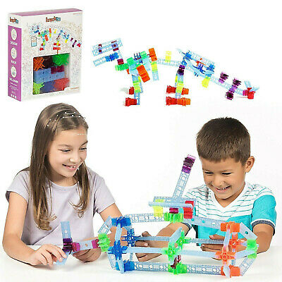 100 Pc Brackitz Inventor STEM Building Toy: Teaching Kids at Home