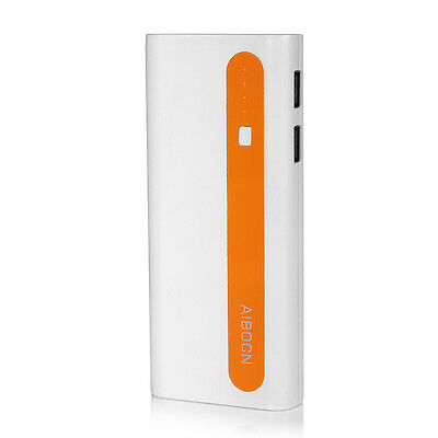 10000mAh External Battery Portable Dual USB Power Bank Charger For Cell Phone 10
