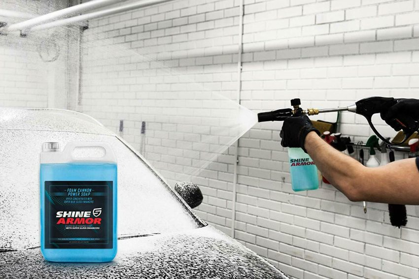 Concentrated Car Wash Soap Wax Washing Cleaning Vehicle Care Detailing 1-Gallon 5