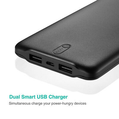 Poweradd 50000mAh 2 USB Port Power Bank Portable Quick Charger for Cell Phone 9