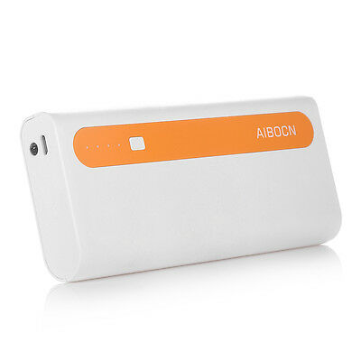 10000mAh External Battery Portable Dual USB Power Bank Charger For Cell Phone 7
