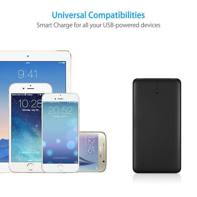 Poweradd 50000mAh 2 USB Port Power Bank Portable Quick Charger for Cell Phone