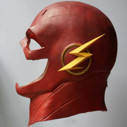 The Flash Marble Allen Costume Latex Rubber Head Man Horror Scary Mask Halloween 2