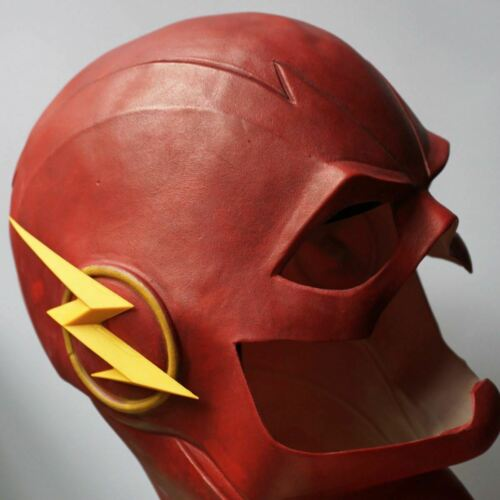 The Flash Marble Allen Costume Latex Rubber Head Man Horror Scary Mask Halloween 3