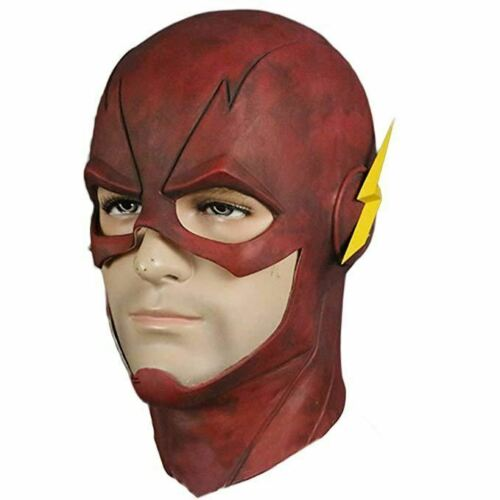 The Flash Marble Allen Costume Latex Rubber Head Man Horror Scary Mask Halloween