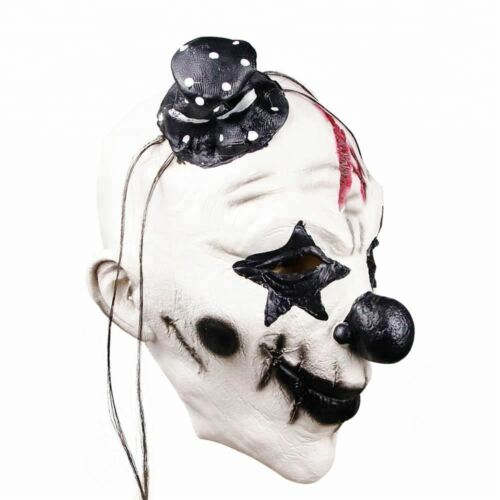 Pennywise Dancing Clown Costume Latex Rubber Horror Scary Mask Halloween Party 1