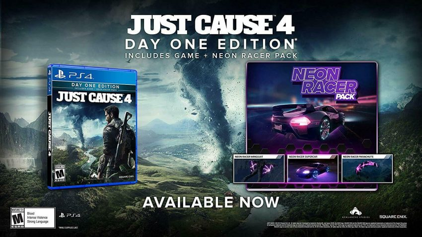 Just Cause 4 - Day One Edition Playstation 4 (PS4) - Brand New 8