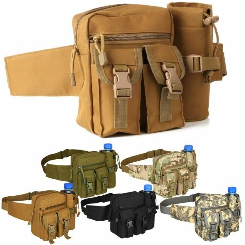 Outdoor Utility Tactical Waist Fanny Pack Pouch Military Camping Hiking Belt Bag 1
