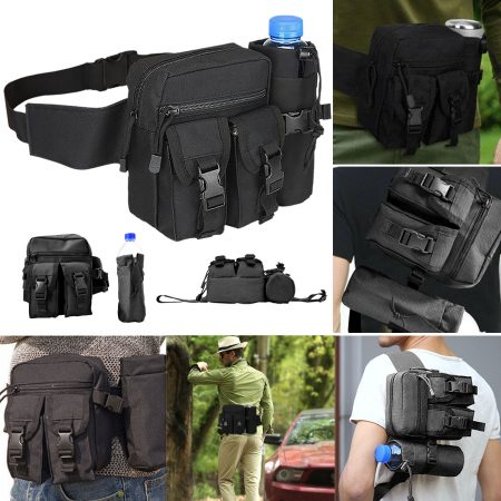 Utility Tactical Waist Pack Pouch Military Camping Hiking Outdoor Belt Bag