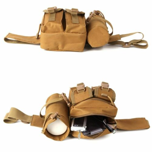 Outdoor Utility Tactical Waist Fanny Pack Pouch Military Camping Hiking Belt Bag 4
