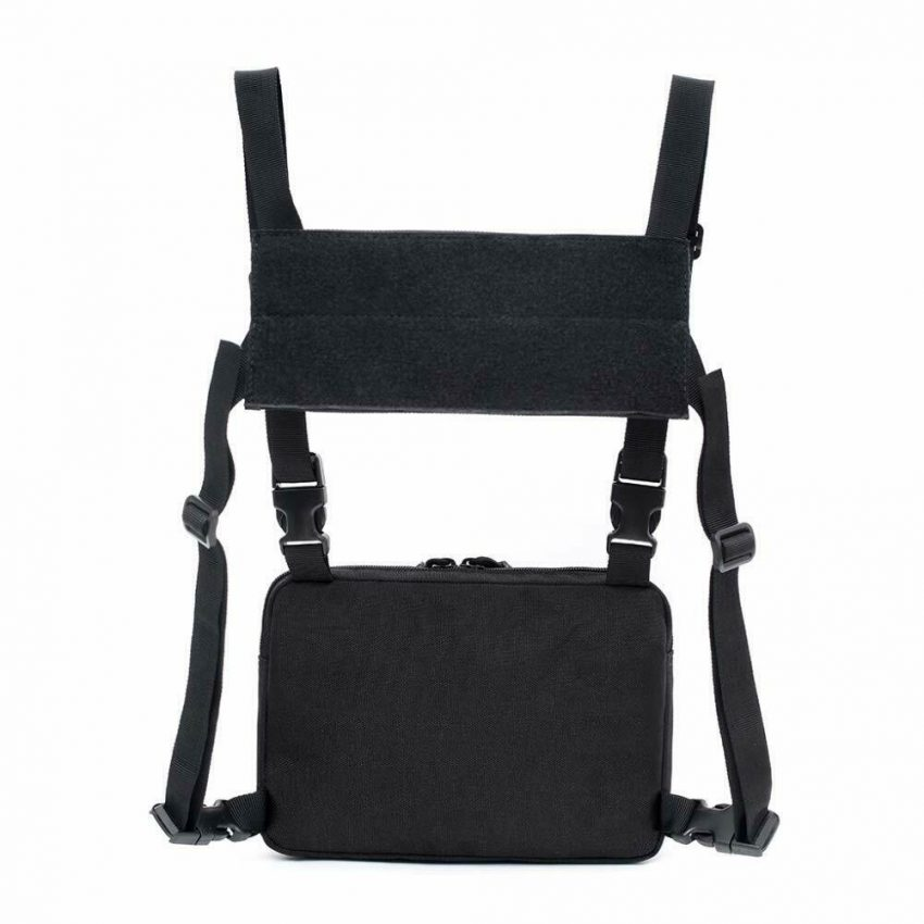 Outdoor Tactical Molle Combat Chest Rig Bag Front Pouch Recon Kit Pack 6