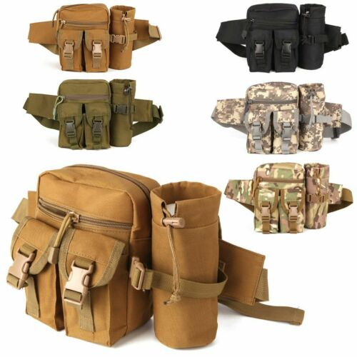 Outdoor Utility Tactical Waist Fanny Pack Pouch Military Camping Hiking Belt Bag