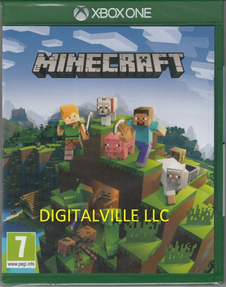 Minecraft Xbox One Physical Game Brand New Factory Sealed